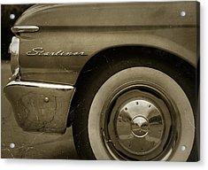 1961 Ford Starliner Acrylic Print by Gordon Dean II