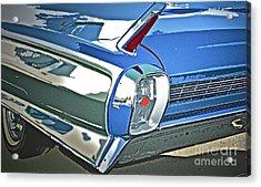 1962 Cadillac El Dorado Acrylic Print by Gwyn Newcombe