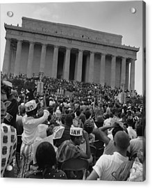 1963 March On Washington. View Acrylic Print