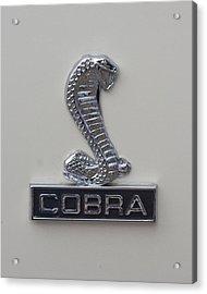 1968 Shelby Cobra Emblem Acrylic Print