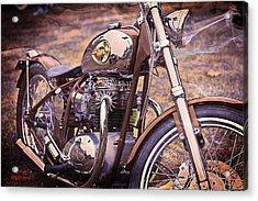 1969 Bsa Js Acrylic Print