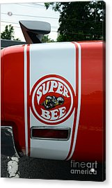1970 Dodge Super Bee 1 Acrylic Print by Paul Ward
