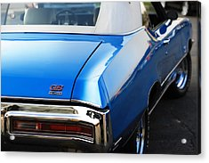 Acrylic Print featuring the photograph 1971 Buick Gs by Gordon Dean II