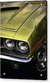 1971 Plymouth Barracuda 360 Acrylic Print by Gordon Dean II