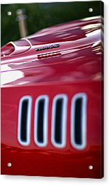 1971 Plymouth 'cuda 340 Acrylic Print by Gordon Dean II