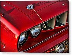 1971 Plymouth Hemi 'cuda Acrylic Print by Gordon Dean II