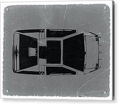 1972 Maserati Boomerang Acrylic Print