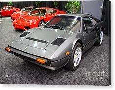1984 Ferrari 308 Gts Qv . 7d9372 Acrylic Print by Wingsdomain Art and Photography