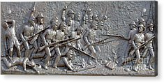 1st Minnesota Monument At Gettysburg Acrylic Print by Randy Steele