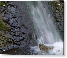 Waterfall Acrylic Print by Odon Czintos