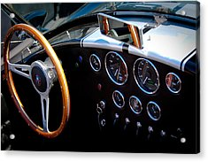 1966 Ford Ac Shelby Cobra 427 Acrylic Print by David Patterson