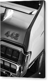 1972 Oldsmobile Cutlass 442 Acrylic Print by Gordon Dean II