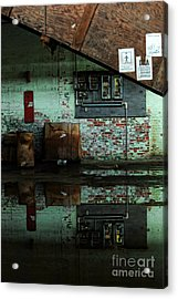 Abandoned Factory Acrylic Print by HD Connelly