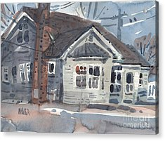 Abandoned House Acrylic Print by Donald Maier