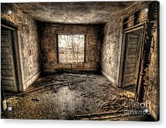 Abandoned Acrylic Print by Miguel Celis