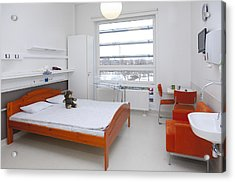 Accommodation For Patients And Families Acrylic Print by Jaak Nilson