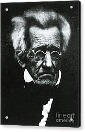 Andrew Jackson, 7th American President Acrylic Print by Photo Researchers