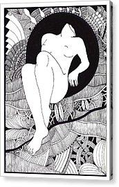 Art Acrylic Print by Marek Burbul