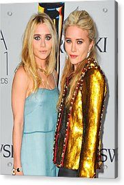 Ashley Olsen Wearing The Row, Mary-kate Acrylic Print by Everett