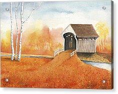 Autumn Color Acrylic Print by Greg Dolan