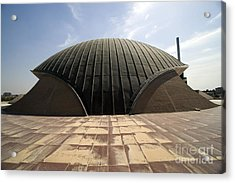 Baghdad, Iraq - A Great Dome Sits At 12 Acrylic Print by Terry Moore