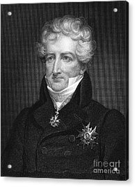 Baron Georges Cuvier Acrylic Print by Granger