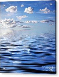 Blue Sky Acrylic Print by Kati Molin
