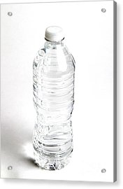 Bottled Water Acrylic Print by Photo Researchers