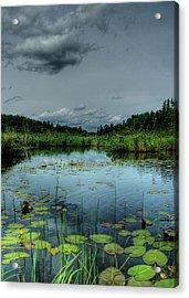Bottomless Lake Acrylic Print by Heather  Rivet