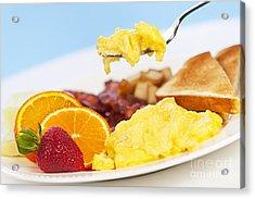 Breakfast  Acrylic Print by Elena Elisseeva