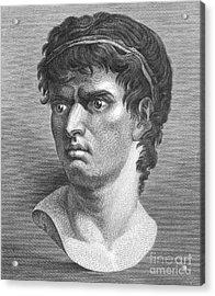 Brutus, Roman Politician Acrylic Print by Photo Researchers