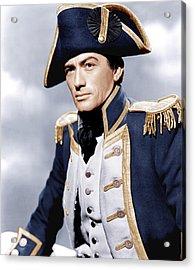Captain Horatio Hornblower, Gregory Acrylic Print by Everett