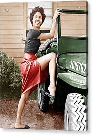 Carmen Jones, Dorothy Dandridge, 1954 Acrylic Print