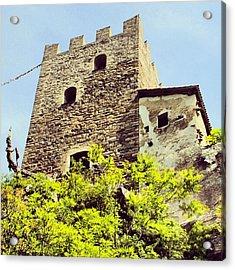 Castel Juval Acrylic Print
