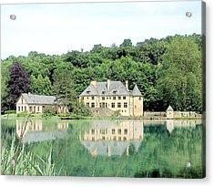 Chateau Du Lac Orval Belgium Acrylic Print