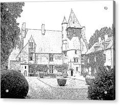Chateau Villamenant France Acrylic Print