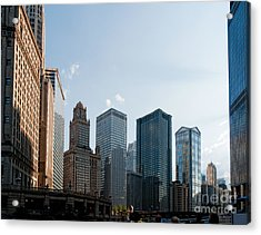 Chicago City Center Acrylic Print