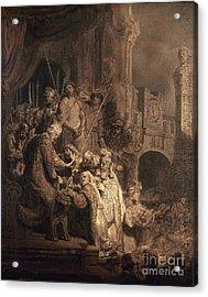 Christ Before Pilate Acrylic Print by Granger