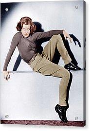 Christopher Strong, Katharine Hepburn Acrylic Print