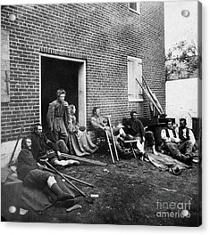 Civil War: Wounded, 1864 Acrylic Print by Granger