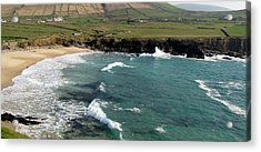 Acrylic Print featuring the photograph Clogher Beach by Barbara Walsh