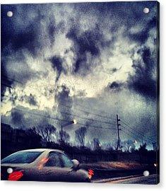 #cloudporncentral #sky  #sun  #nature Acrylic Print