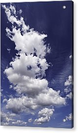 Clouds Acrylic Print by Paul Plaine