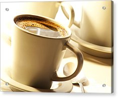 Coffee In Cup Acrylic Print by Blink Images