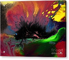 Colorful Water Color Painting Acrylic Print by Sumit Mehndiratta