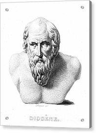Diogenes (d. C320 B.c.) Acrylic Print by Granger