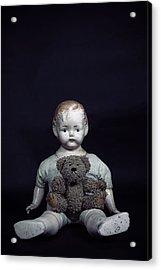 Doll And Bear Acrylic Print by Joana Kruse