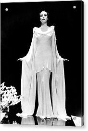 Dolores Del Rio, 1935 Acrylic Print by Everett