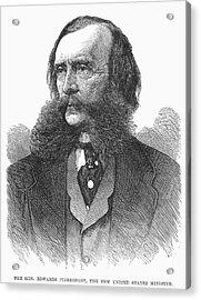 Edwards Pierrepont Acrylic Print by Granger
