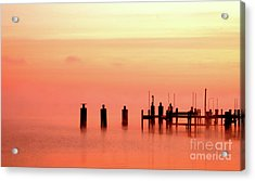 Acrylic Print featuring the photograph Eery Morn by Clayton Bruster